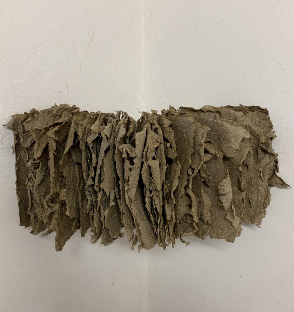 Unread, Hemp, 35x75x15 cm, 2019, Sophia Solaris