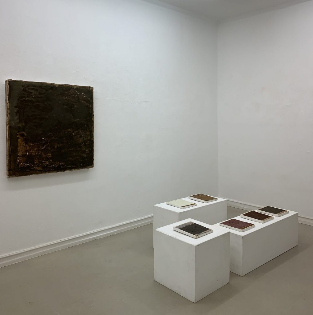Exhibition view, Knecht and Burster Gallery, 2019