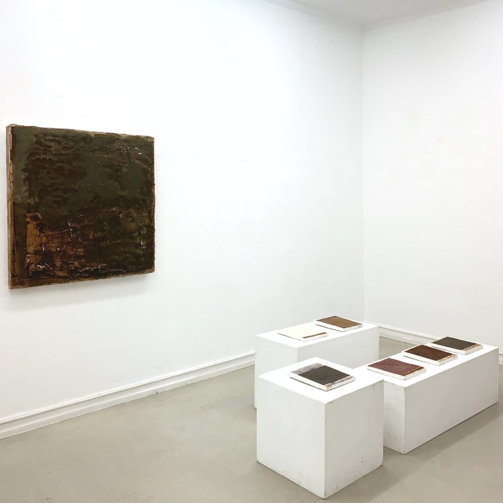 Exhibition view, Knecht and Burster Gallery, 2019, Sophia Solaris